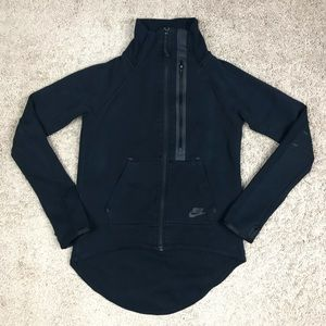Nike Tech Fleece Jacket Moto Cape Drop Tail